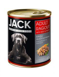 Jack kutya konzerv ragu adult marha 800g